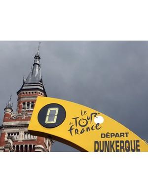 The start in Dunkirk