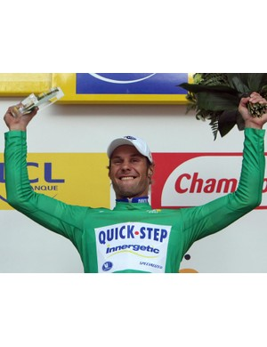 Tom Boonen (Quick.Step) in the green jersey