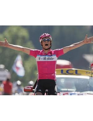 Linus Gerdemann wins in Le Grand Bornand