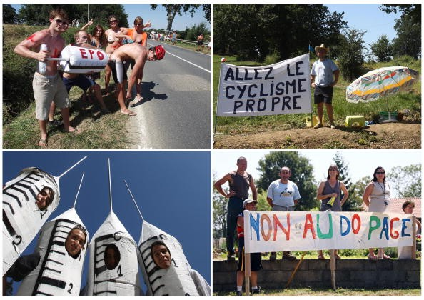 Spectators let us know how they feel about doping in the Tour.