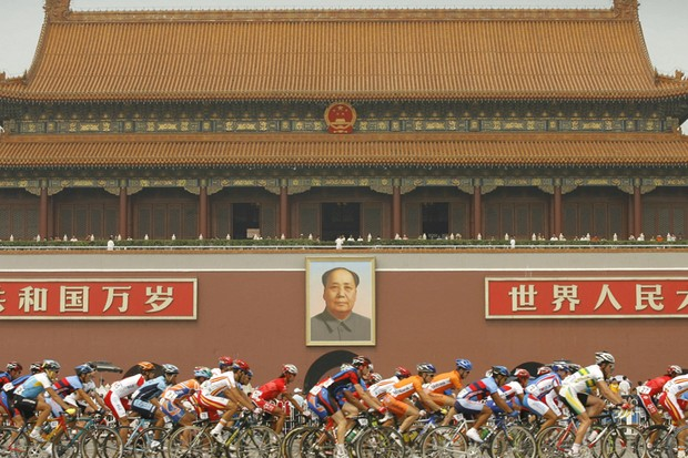 104 cyclists will ride from France to China