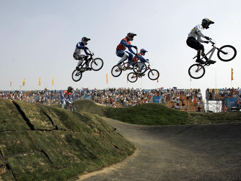 Grant White hopes to take British BMX to greater heights