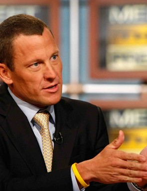Lance Armstrong has made the media rounds in New York and Washington, DC the past two years.