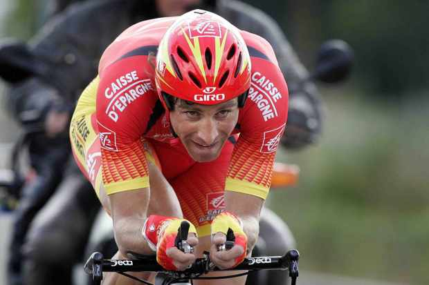 2007 Eneco Tour of Benelux winner Jose Ivan Gutierrez finished second in the final time trial on August 29, 2007.