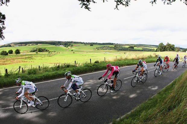 The Tour of Britain has had police rule interpretation problems