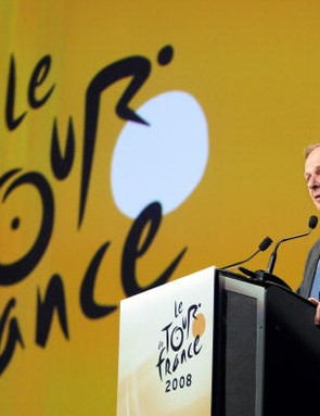 Patrice Clerc, president of ASO, owners of the Tour de France.
