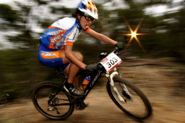 Australia's High Performance Mountain Bike Program will train promising athletes like Rowena Fry in Tasmania for the next four years