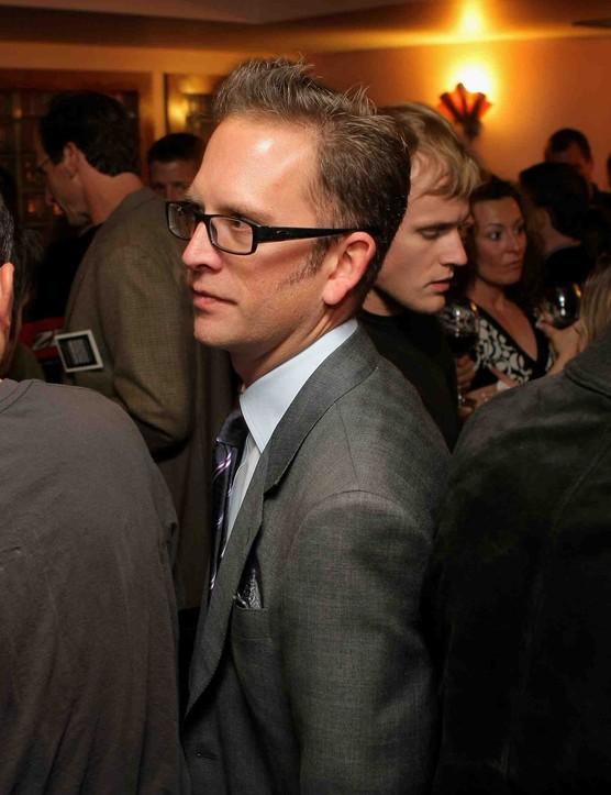 Team Garmin-Slipstream director Jonathan Vaughters.
