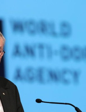 Former WADA president Dick Pound in Madrid last fall.