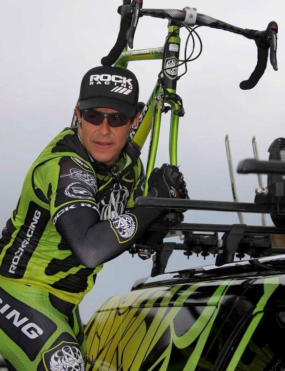Rock Racing team owner Michael Ball.