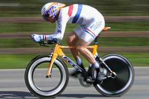 British time trial champion David Millar during the 2008 Tour of California.