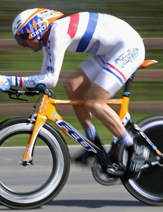British time trial champion David Millar during the 2008 Tour of California.