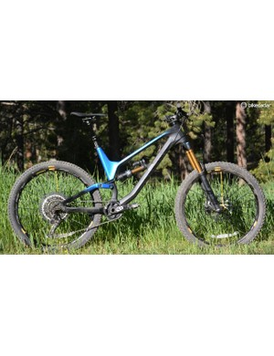Super-enduro, freeride or DH light, whatever you call it, Canyon's 175mm travel Torque CF 9.0 Pro is impressive