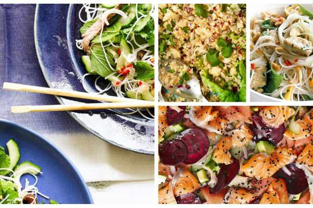 Tasty salads that will leave you satisfied — inspired by Thai, Vietnamese and Japanese recipes