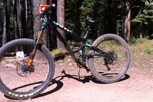 First-ride fun on Yeti's new plus-sized SB5