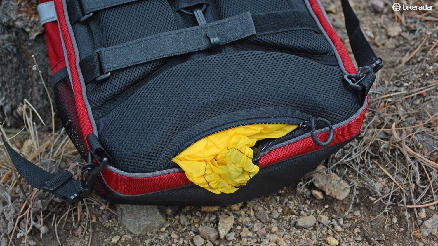 What pannier or commuter pack would be complete without a rain cover?