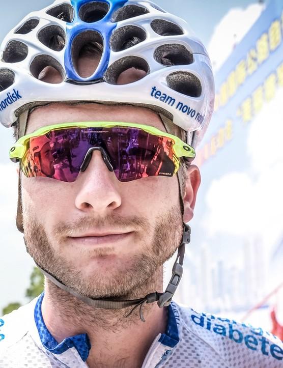 Gerd de Keijzer says it's easier to manage his diabetes during the race season