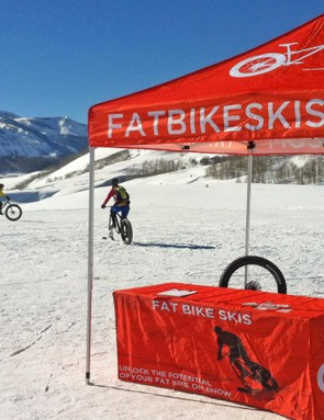 Fat Bike Skis is from Vermont. Are they the next big thing for fat bikes?