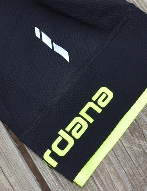 Reflective accents and rubberized logos highlight the attention to detail