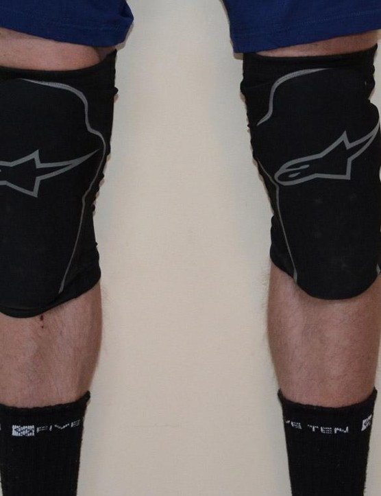 Thicker knee padding combines with lightweight materials
