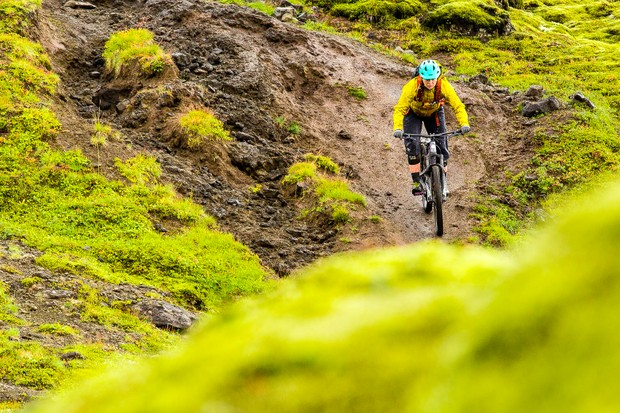 The Revelation women's waterproof jacket from 7Mesh stood me in good stead while riding in Iceland