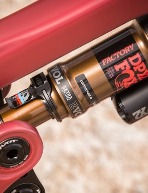 Aggressive or bigger riders take note, Fox DPX2 shocks are available