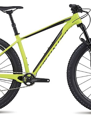 Big, plus-size tires and a dropper post expose the Fuse's desire to get rowdy