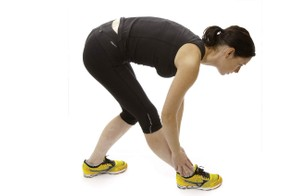 Dynamic hamstring stretch 2