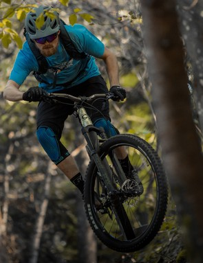 Fitting a higher-rise bar helped boost control
