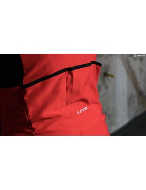 A mesh gusset underneath the three rear pockets will allow cargo to come away from your body instead of digging in