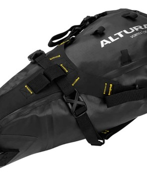 The Altura Vortex Seatpack is a great way to stash a lot of stuff under your saddle