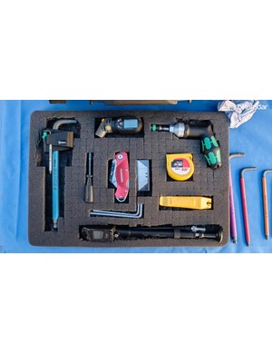 Only the absolute essentials have made their way into this tidy toolbox
