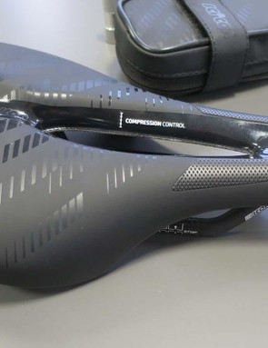 Scicon are better known for their saddle packs than saddles, but the Elan appears to be a promising option