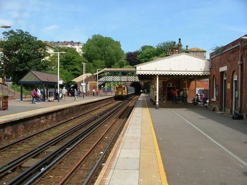 St Leonards Warrior Square railway station, Hastings, East Sussex.