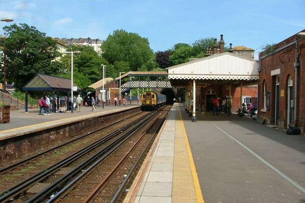 St Leonards Warrior Square railway station, Hastings, East Sussex.