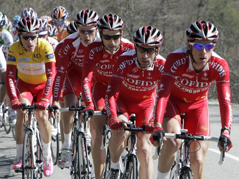 The Cofidis team has decided not to renew its Pro Tour licence