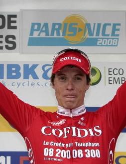 Sylvain Chavanel won stage 6 of Paris-Nice.