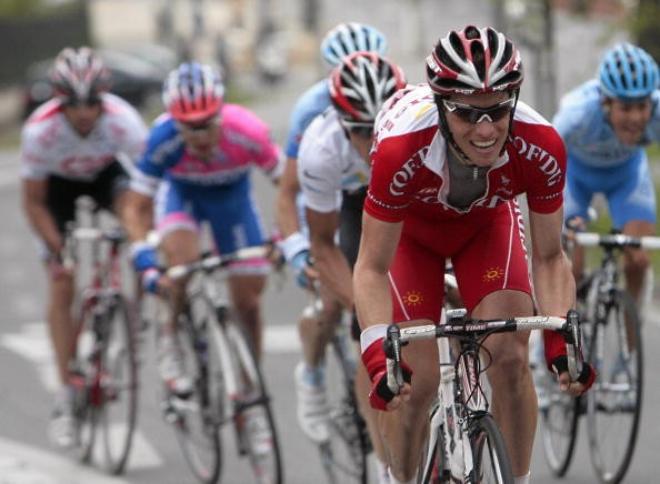 Sylvain Chavanel (Cofidis) during the 2008 Paris-Nice.