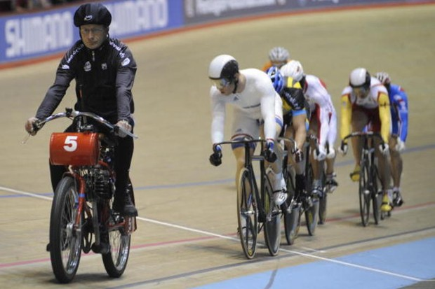 The men's keirin final at this summer's Olymics