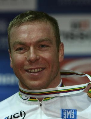 Chris Hoy is worth his weight in gold in Manchester.