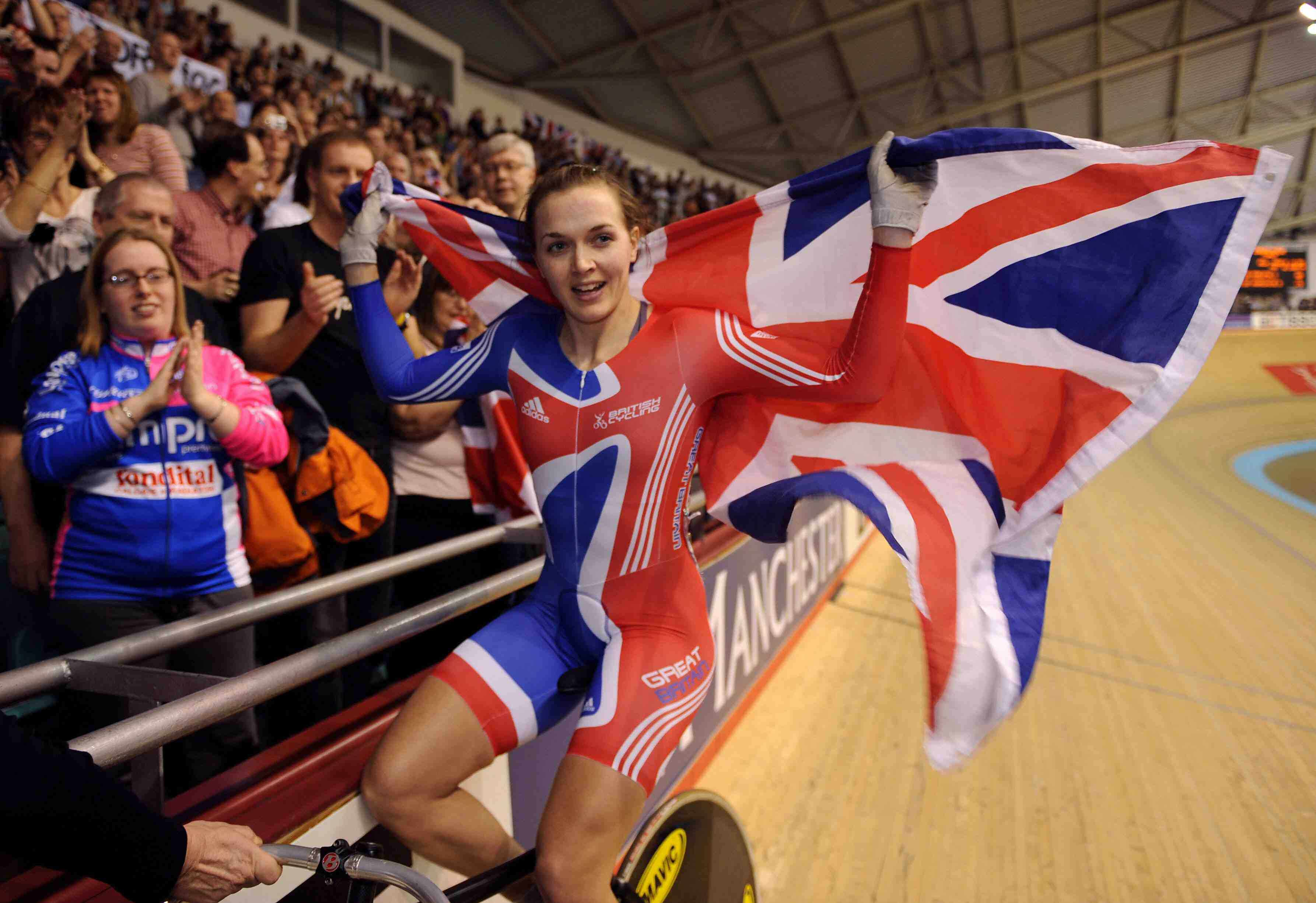 Will there be much flag waving in Beijing for Great Britain? Victoria Pendleton hopes so.