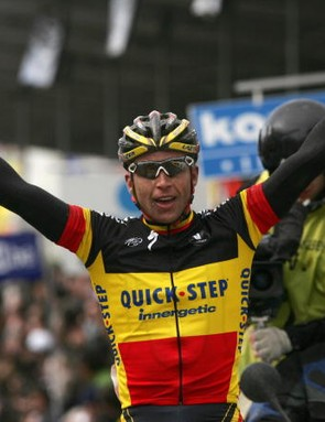 Devolder won the 2008 Tour of Flanders April 6 in a commanding fashion.