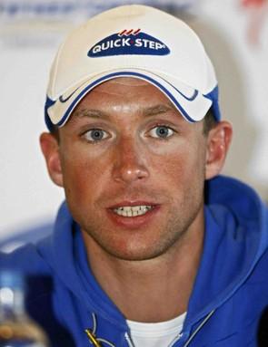 Stijn Devolder is entering his first Tour de France July 5.