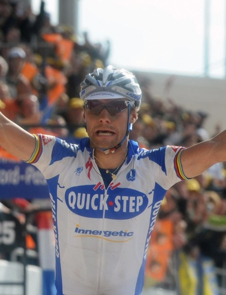 Boonen explodes with joy