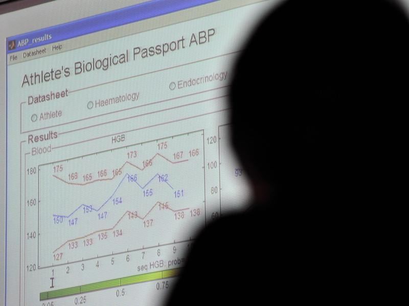 Bio-passports will allow the establishment of racer profiles to check cyclists' blood-levels and urine samples