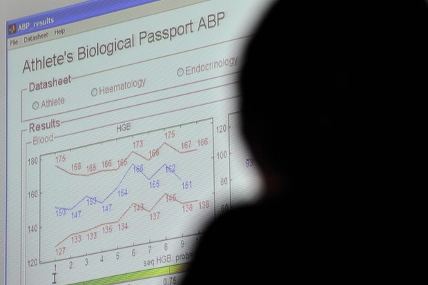 The results of the biological passport are presented
