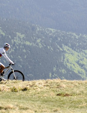 Julien Absalon on home turf in the Vosges