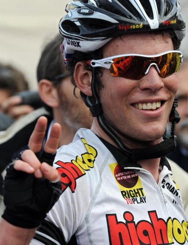 Mark Cavendish won two stages of the Giro d'Italia in May.