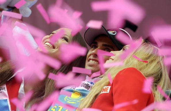 Alberto Contador will be dreaming of pink in Milano Sunday afternoon.