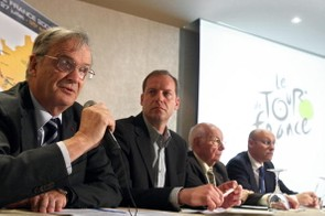 Pierre Bordry, Prudhomme, Jean Pitallier and Bernard Laporte.